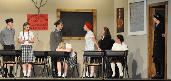 high school dramatic production