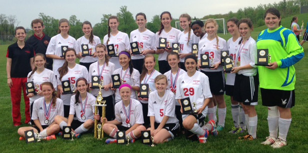 high school girls soccer 2014